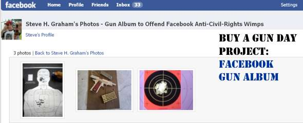 Post Gun Photos in Your Facebook Profile