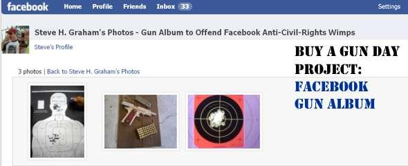 Post Gun Photos in Your Facebook Profile